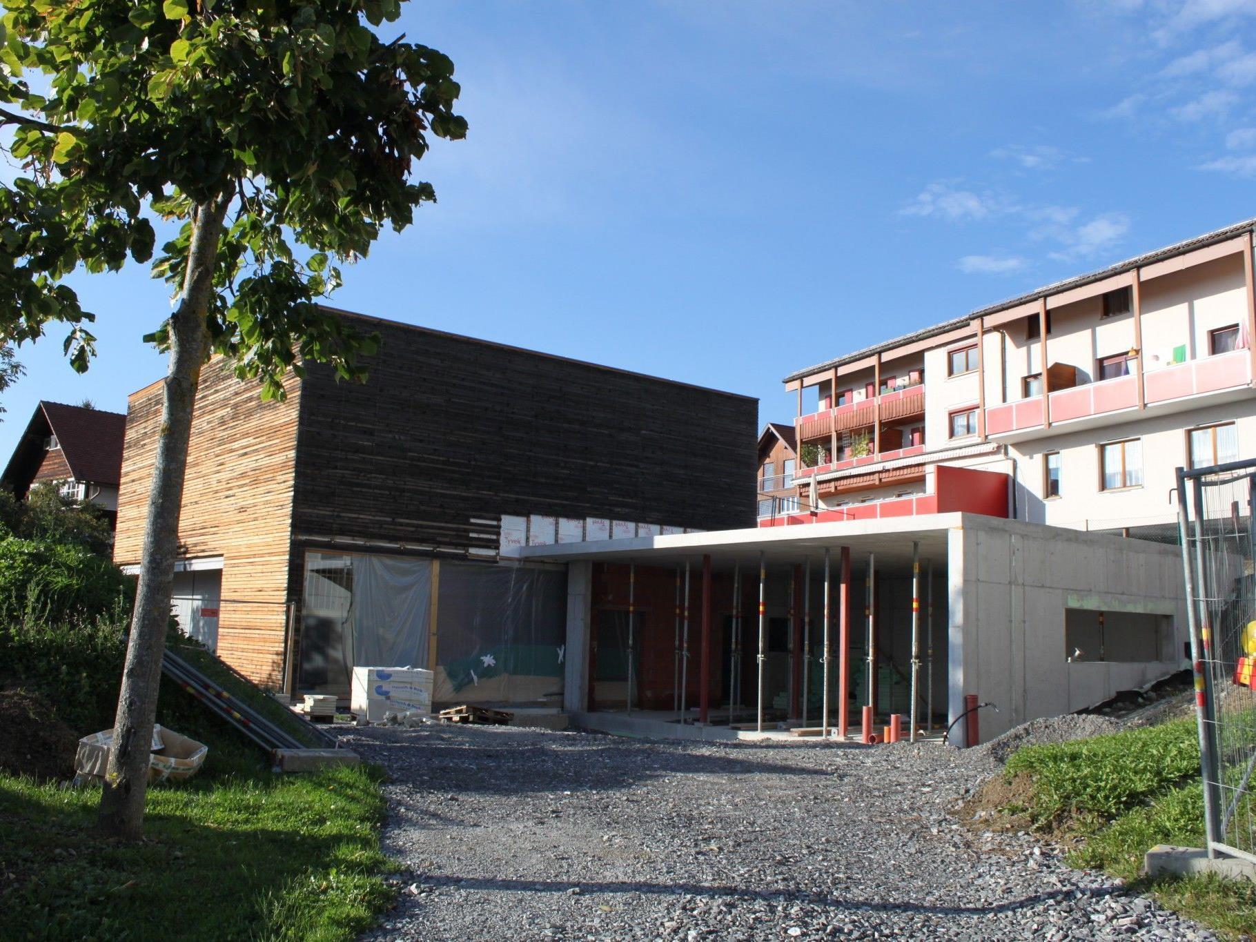 Fraxner Kindergarten-Erweiterung liegt laut Auskunft von Bau Summer im Zeitplan.