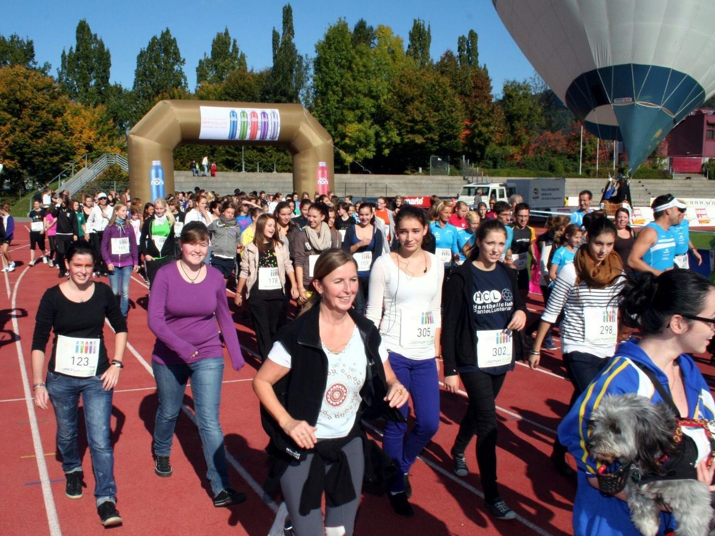 Hunderte Teilnehmer werden beim Stundenlauf im Bregenzer Casinostadion erwartet.