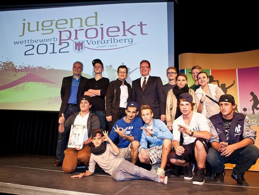 Aktive Jugend mit spannenden Projekten - Jugendprojektwettbewerb 2012