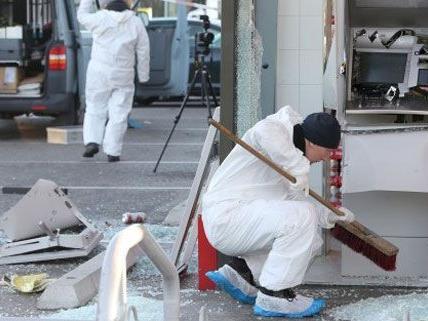 Heuer wurden bereits vier Bankomaten in Wien gesprengt.