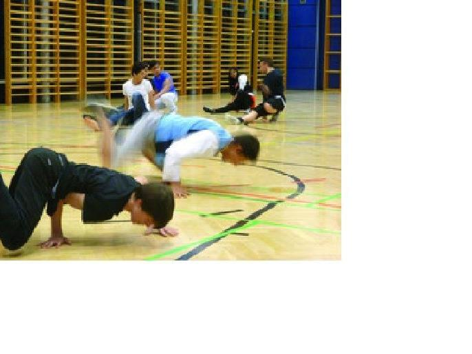 Breakdance-Workshop mit Move4Style Trainer Abdu