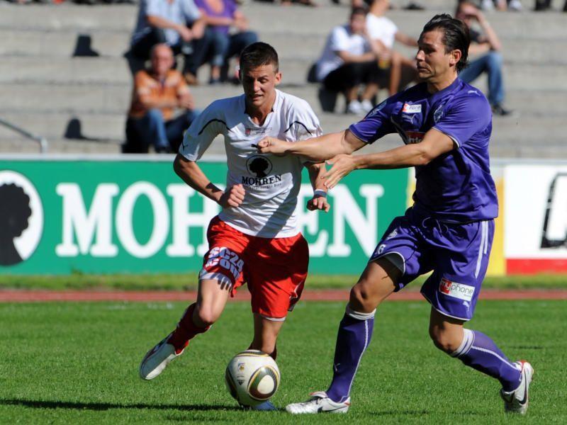 Daniel Krenn spielt beim Regionalligaklub FC Liefering und will dort den Meistertitel erreichen.