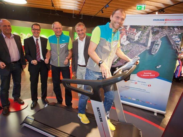Günter Ernst wurde beim Marathon in Berlin achtbester Österreicher