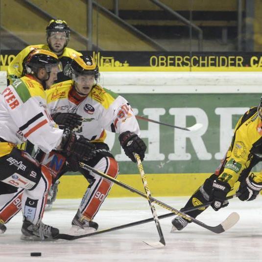 EHC Lustenau verlor zu Hause gegen Zell am See mit 3:9.