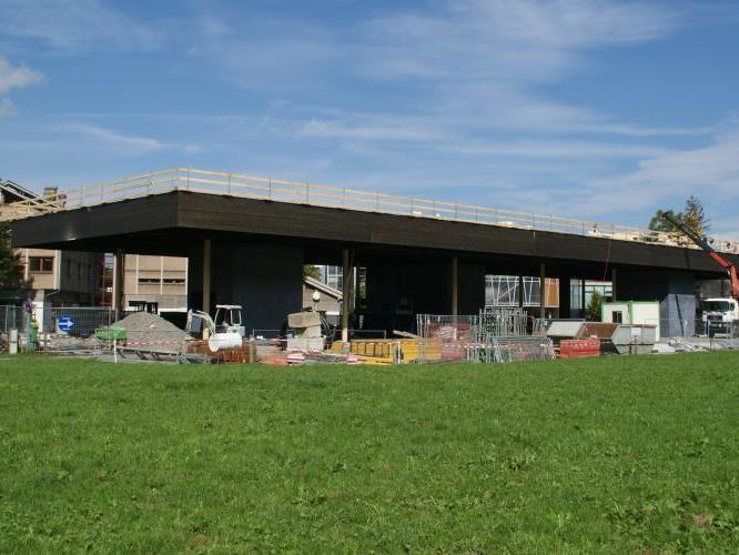 Imposantes Gebäude - Werkraumhaus in Andelsbuch