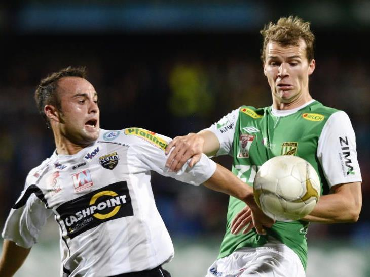 Jan Zwischenbrugger kann gegen Grödig nicht spielen, muss verletzungsbedingt passen.