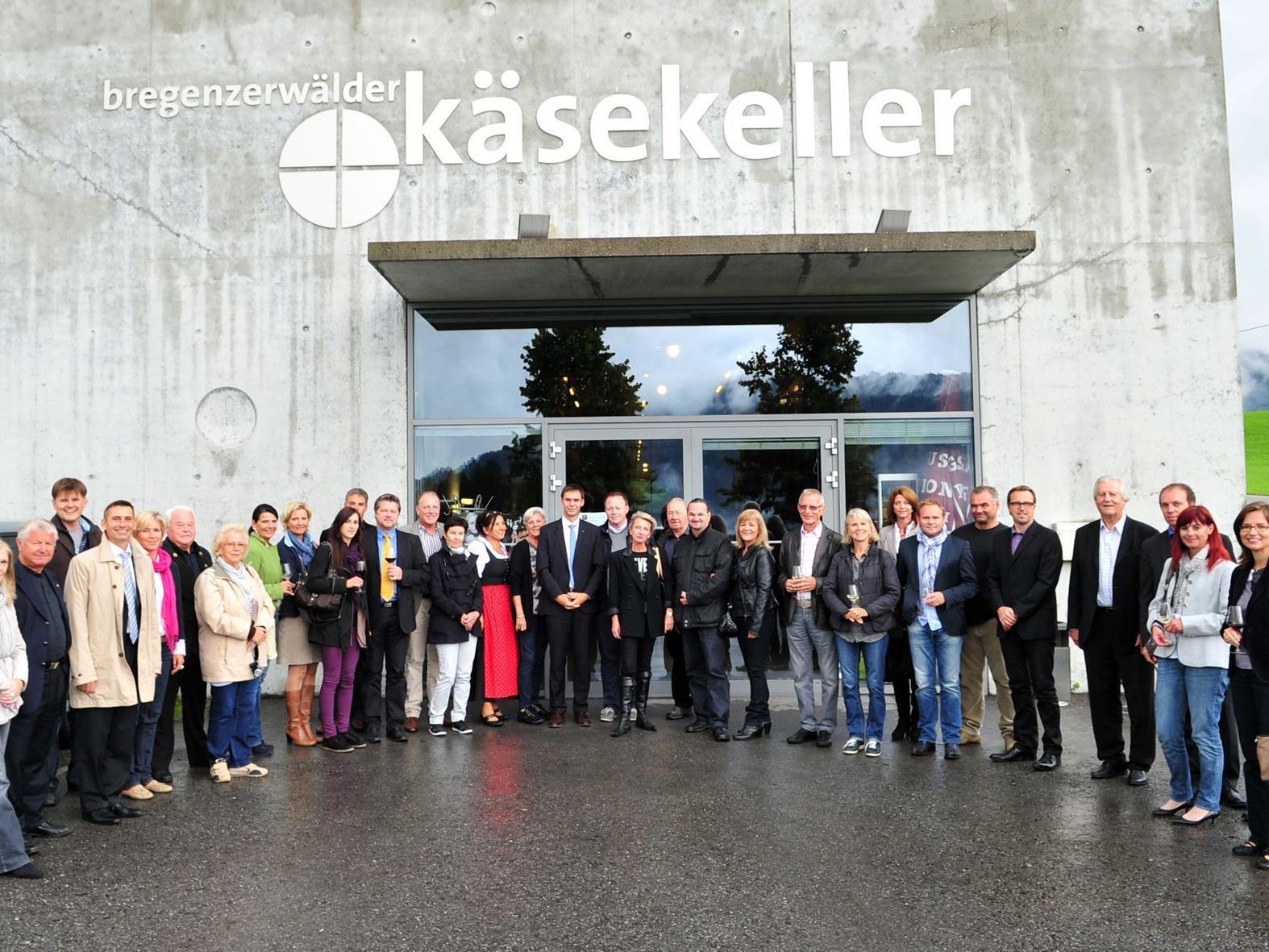 Gildenball-Event im Käsekeller Lingenau.