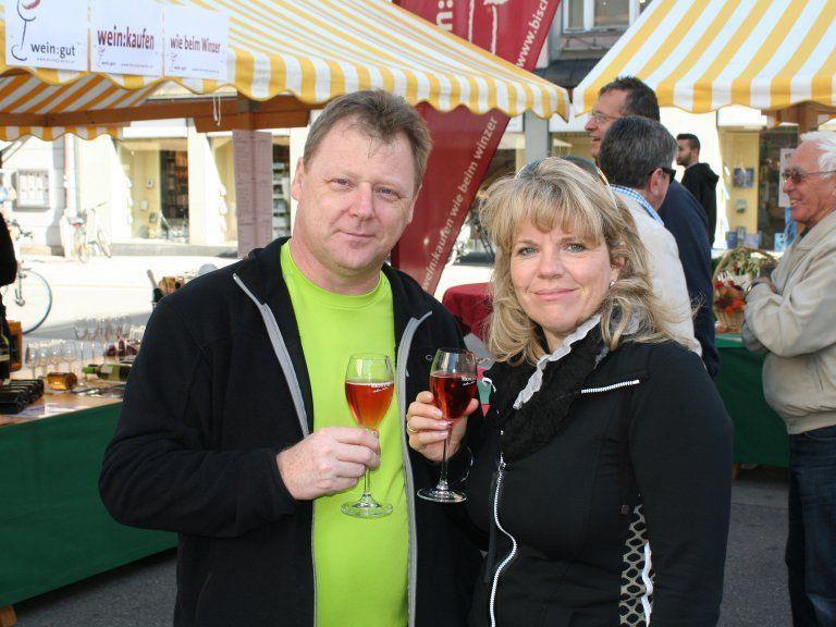 Weinmarkt lockte viele Interessierte in die Bregenzer City