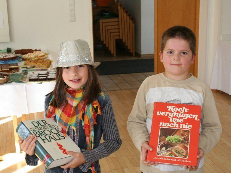 Kochbuchflohmarkt kam bei Alt und Jung gut an