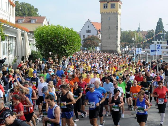 3000 Kids sind am Samstag beim Kinder-Marathon in Bregenz am Start und sorgen für einen Rekord.