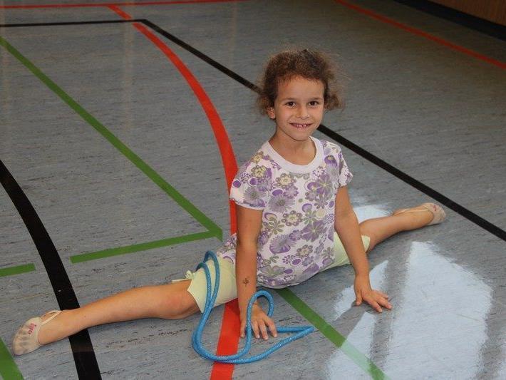 Rhythmische Gymnastik gehört zu den beliebten Riegen innerhalb des Vereins
