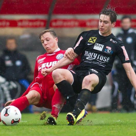 Timm Lingg will mit SC Bregenz das Heimspiel gegen Neumarkt gewinnen und Platz vier festigen.