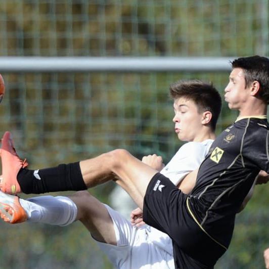 Rankweil U-15-Erfolgstruppe gewann gegen Altach mit 2:0.