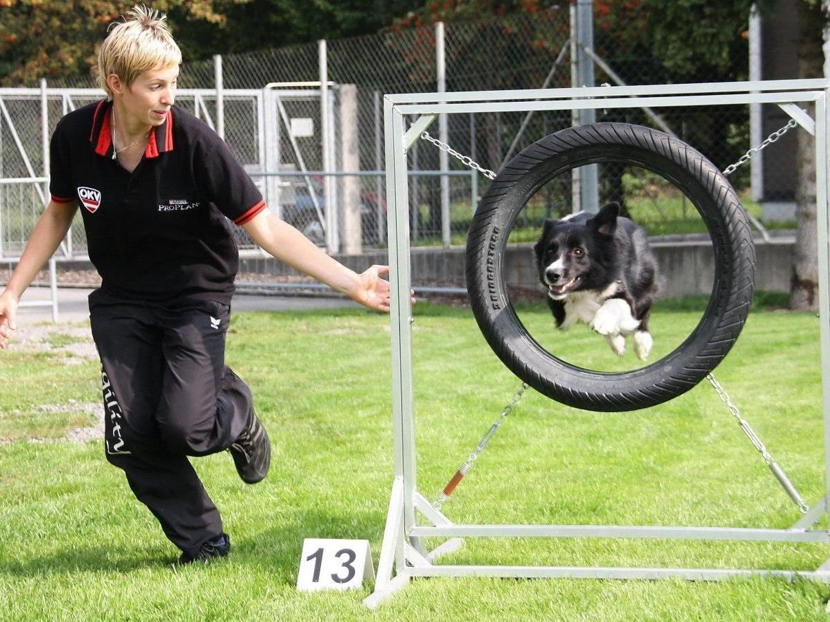 Die Königin des Hundesports: Agility-Dreifach-Weltmeisterin Lisa Frick schrieb Geschichte.