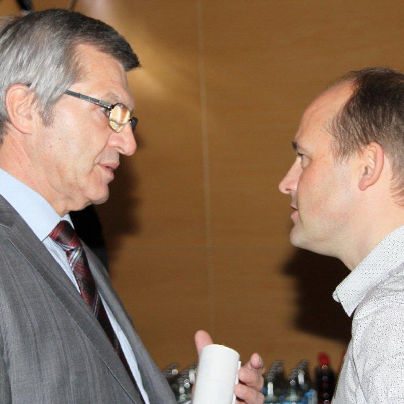 Teammanager Thomas Kofler und Sport Landesrat Mag. Siegi Stemer zogen ein zufriedenes Resümee.