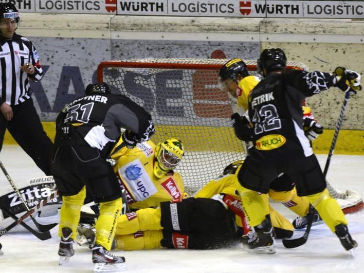 EC Dornbirn unterlag dem Favorit Vienna Capitals nur mit zwei Toren Differenz.