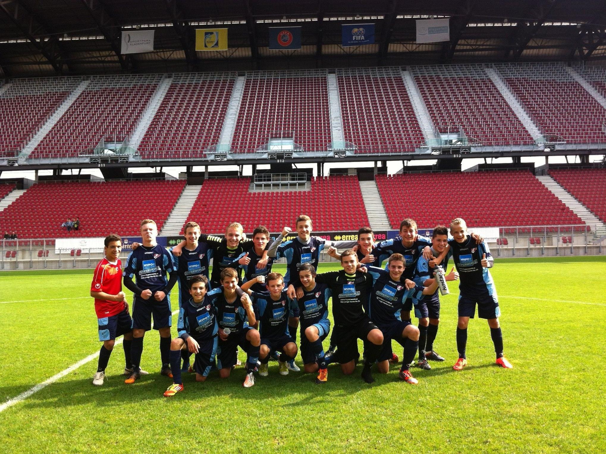 Die Unter-15-Jährigen siegten in Kärnten dank einem Treffer von Anes Omerovic.