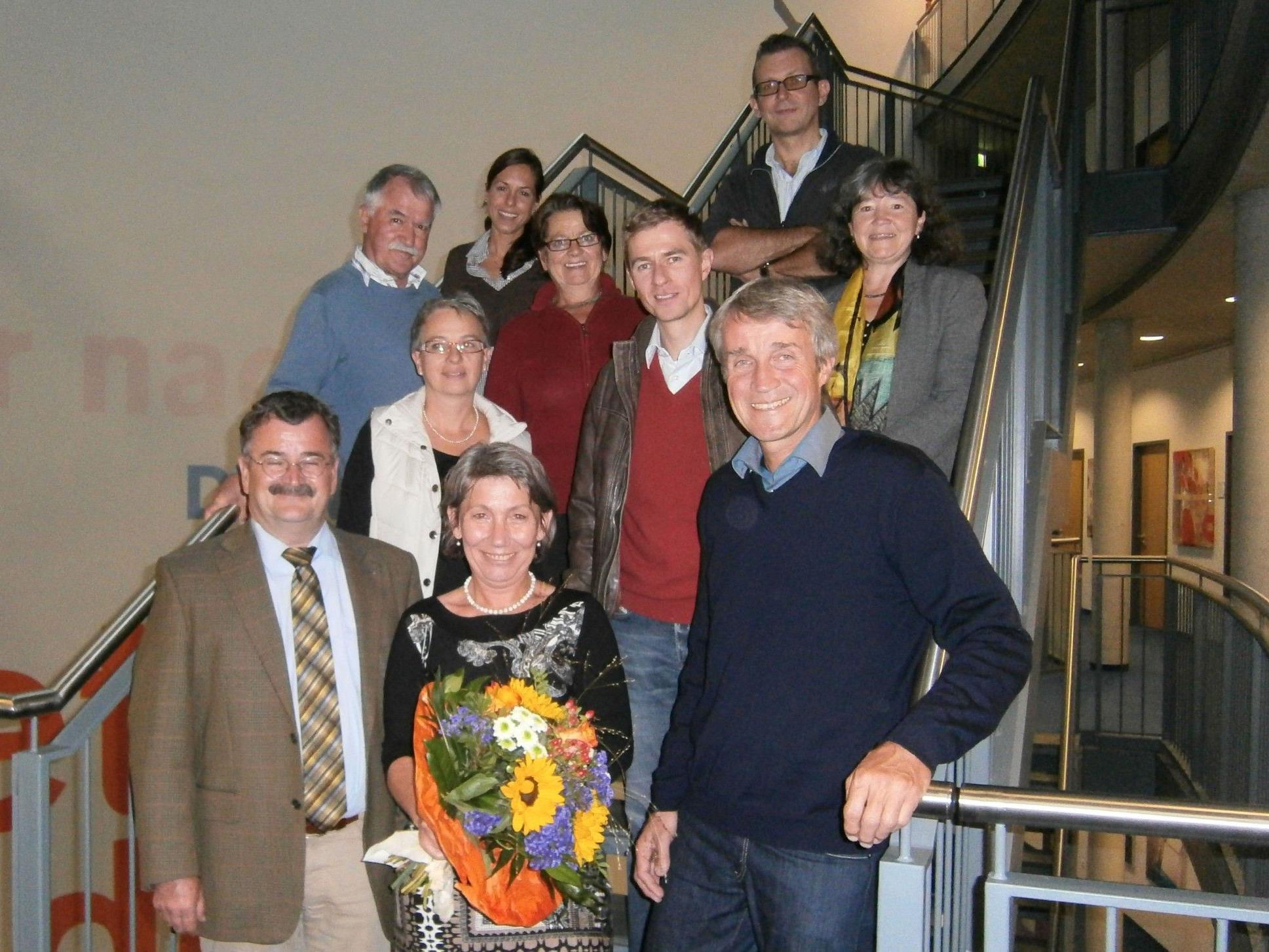 Die VHS Bodensee verabschiedete Andrea Häfele