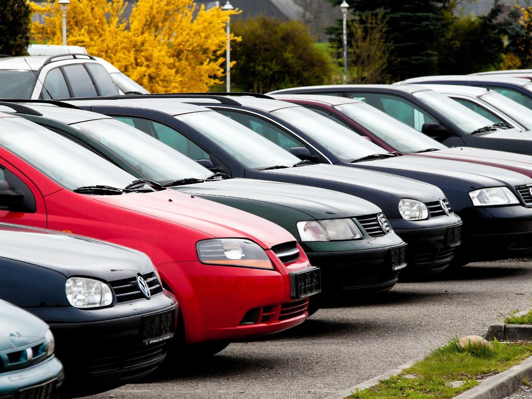 Hoher Anteil von Firmenwag in Vorarlberg