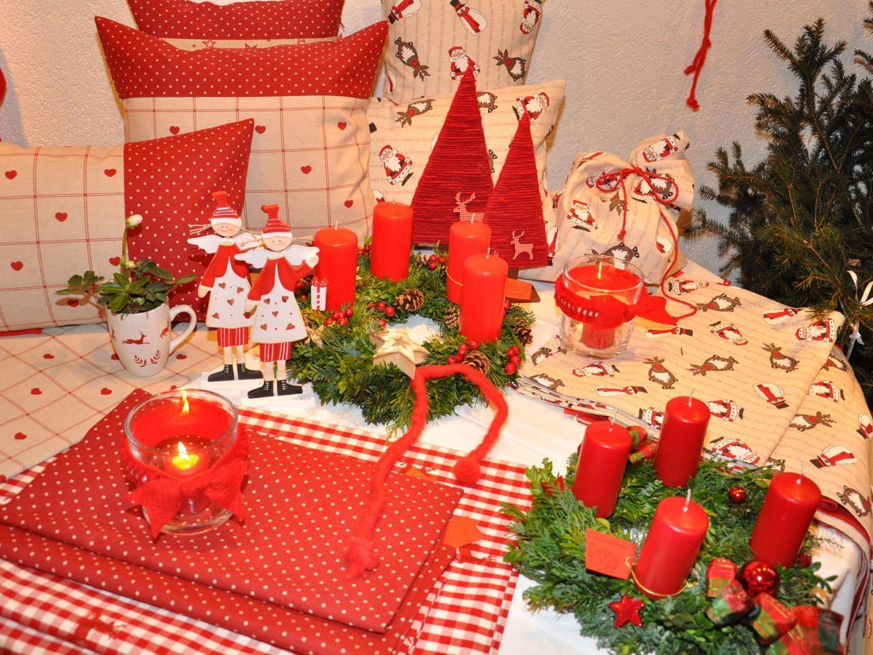 Schöne Dinge, edle Deko, tolle Geschenke. Der Weihnachtsbasar verführt zum Kauf.