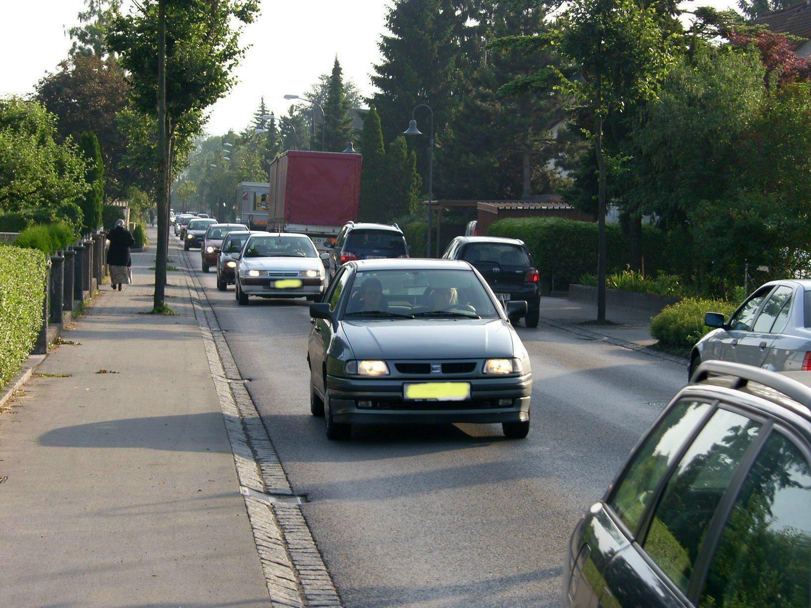 Die Noflerstraße und Ketschelenstraße sind die Sorgenkinder der Gisinger
