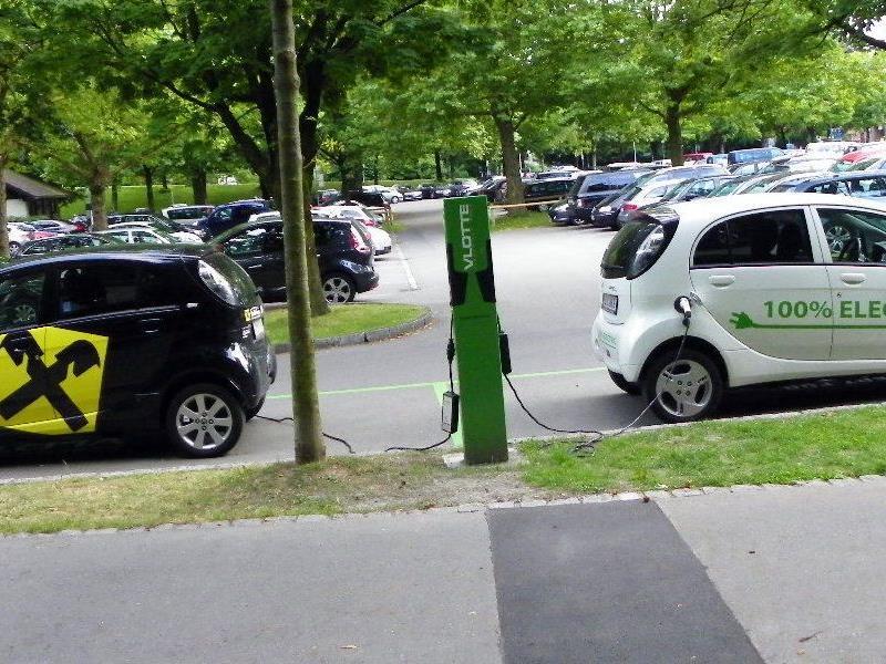 Stromtankstellen am Parkplatz Ost