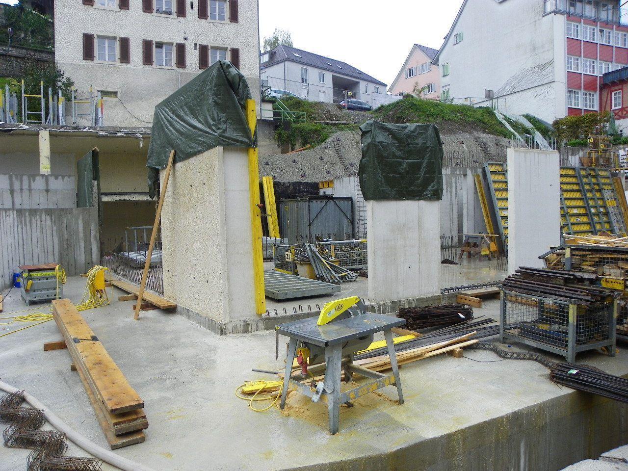Bauetappe 2: Erdgeschoss