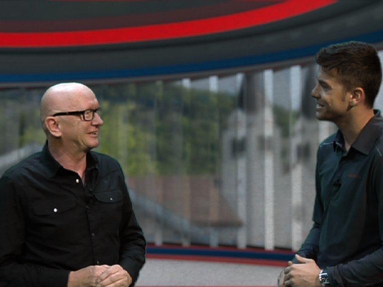 Herbert Schrattner vom RHC Dornbirn im Ländle TV Studio