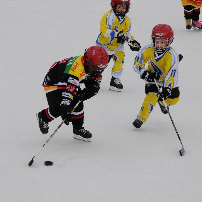 Die Unter-9-Mannschaft von der VEU Feldkirch gewann überlegen mit drei Siegen das Turnier in Ems.
