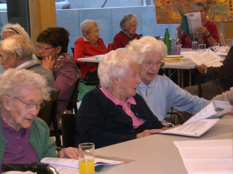 Offenes Singen ist eines der zahlreichen Angebote für Senioren in Rankweil