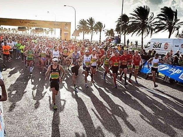 Während in Wien der Winter einkehrt, fand auf Mallorca bei Spätsommerwetter der 9. TUI Marathon statt.
