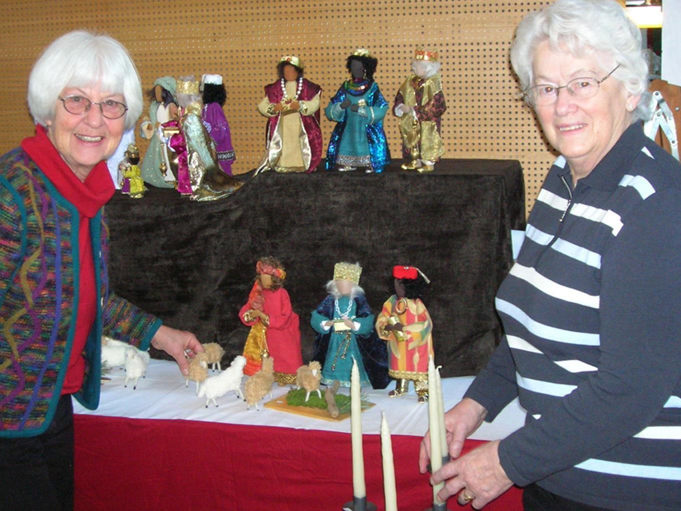Die Frauen vom Missionskreeis St. Karl laden am kommenden Wochenende zum Missionsbasar.