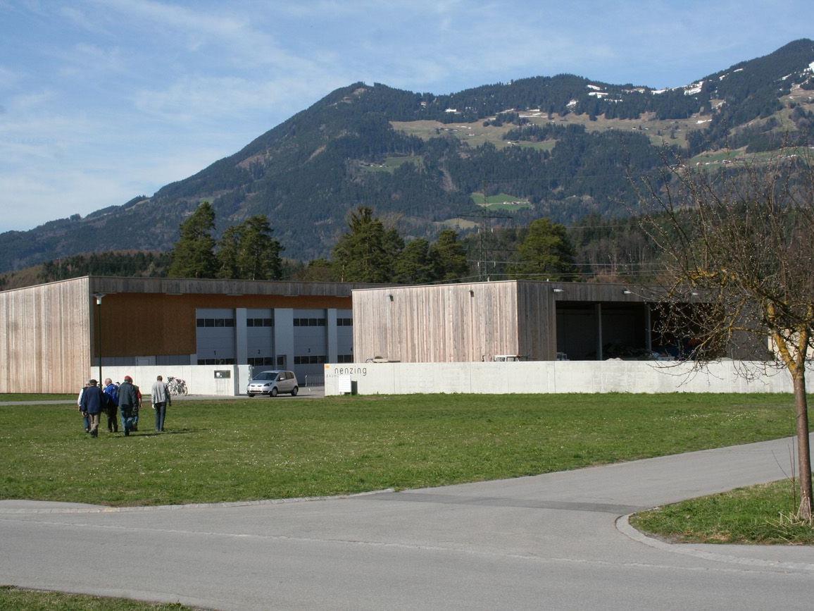 Moderne Recyclingstation in Nenzing: Vor einem Jahr wurde der neue Bauhof eröffnet.