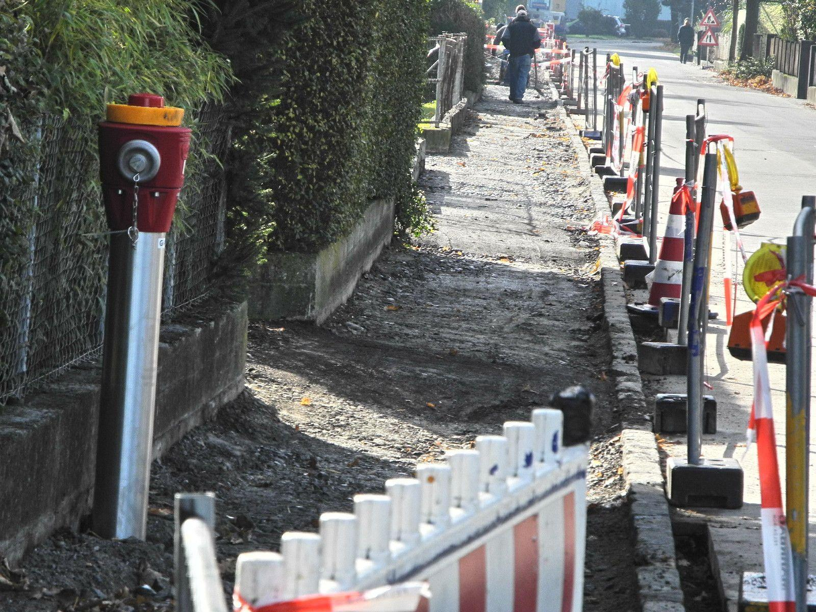 Die Kapfstraße ist vorsussichtlich noch bis Ende November gesperrt