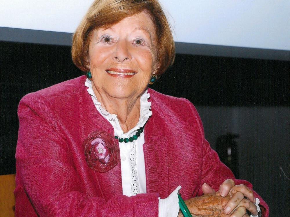 """Reingard Blum wird beim """"Gespräch am Sunnahof"""" aus ihrem bewegten Leben erzählen."""