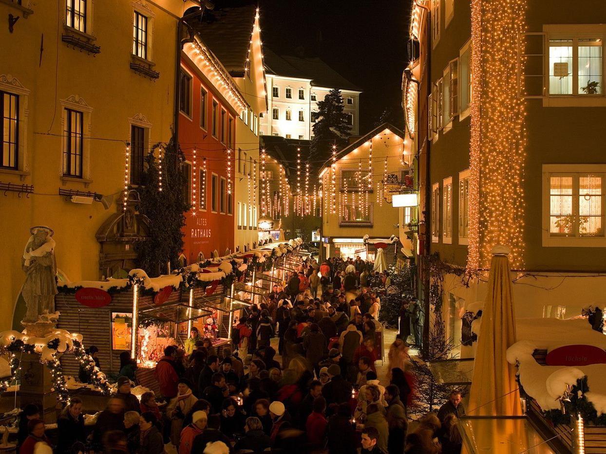 Christkindlemarkt in Bludenz.