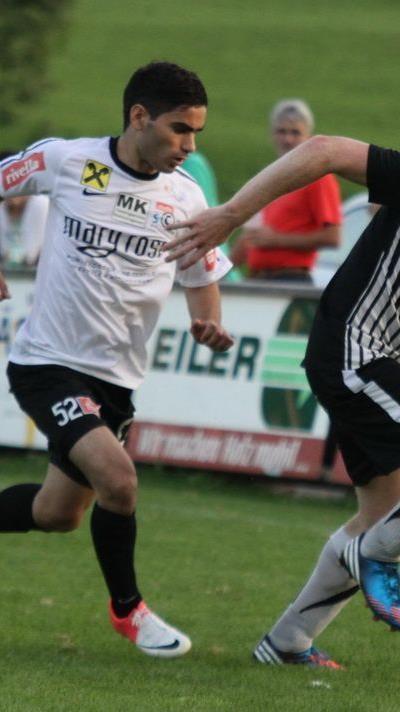 Alberschwende-Stürmer Stefan Betsch will mit Altach Amateure den zweiten RLW-Klub aus dem Bewerb schießen.