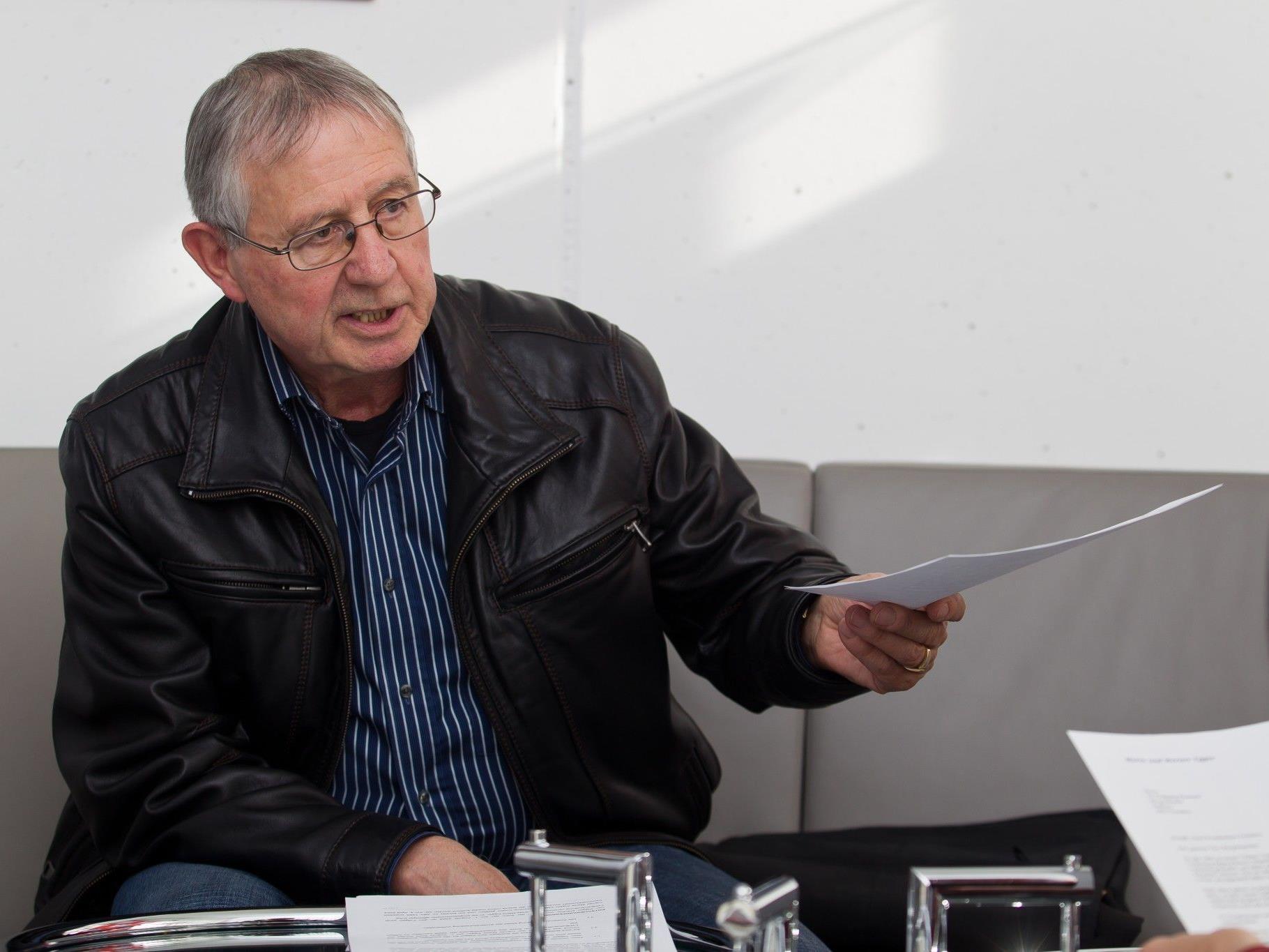 Werner Egger wünscht sich endlich Gerechtigkeit für seinen Enkel, der die Mutter verlor.