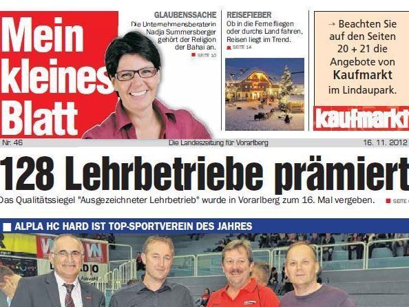 """Die Wochenzeitung """"Mein kleines Blatt"""" wird am Jahresende eingestellt."""