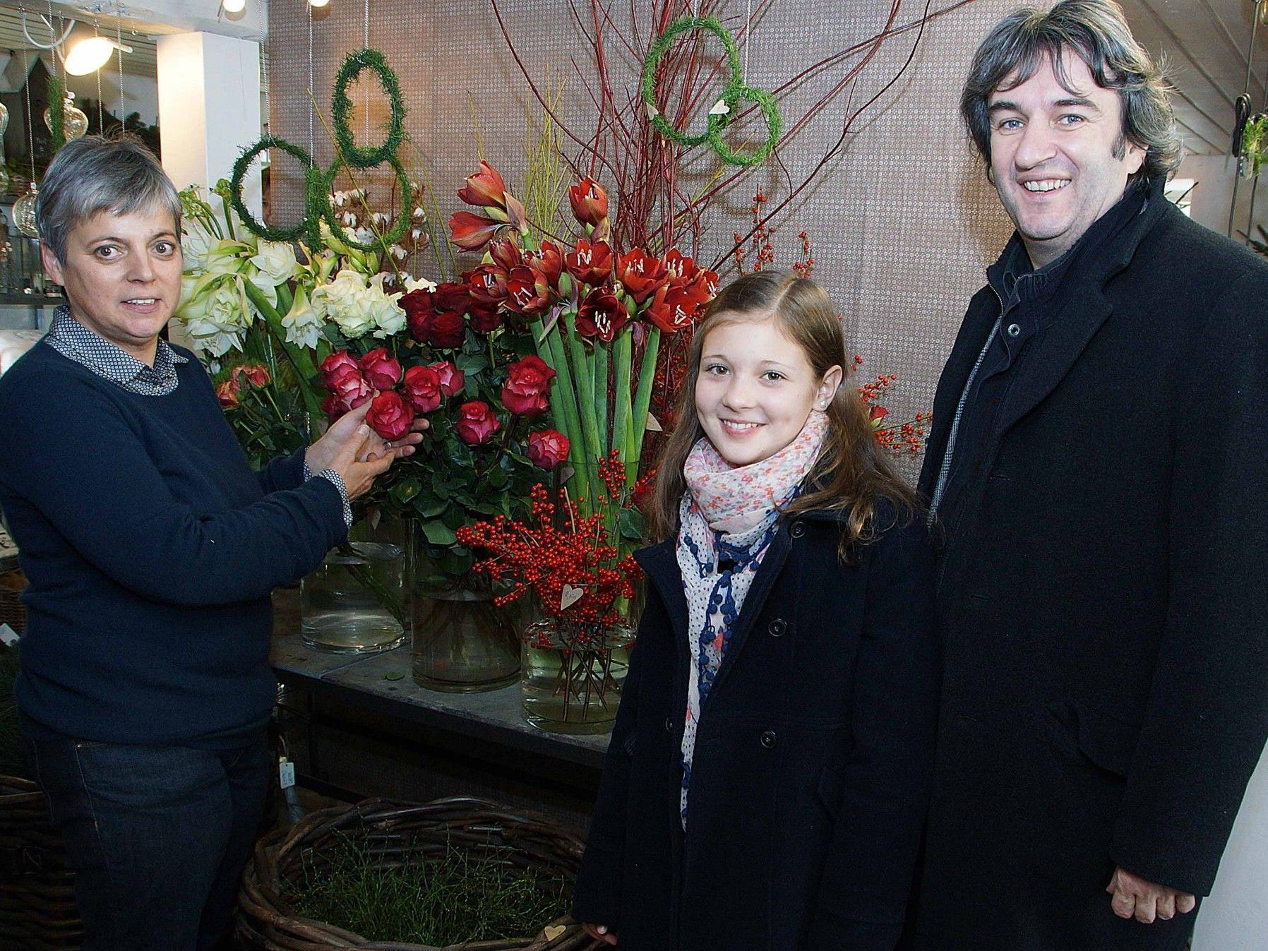 """""""Lasst Blumen sprechen"""" rät Akzente-Geschäftsführerin Hilde Schweigkofler."""