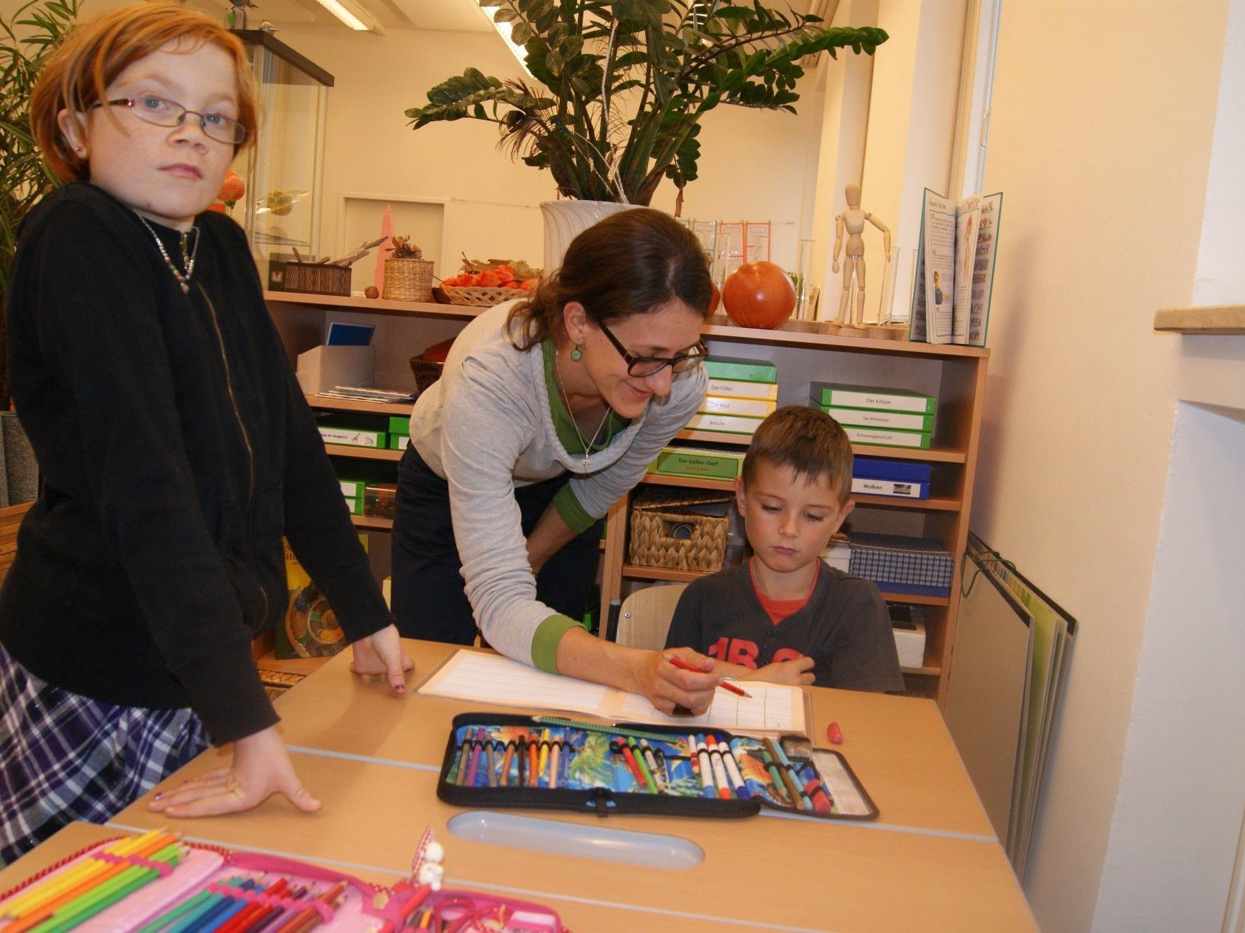 In der VS Kirchdorf gibt es seit heuer eine reformpädagogischen Zweig.