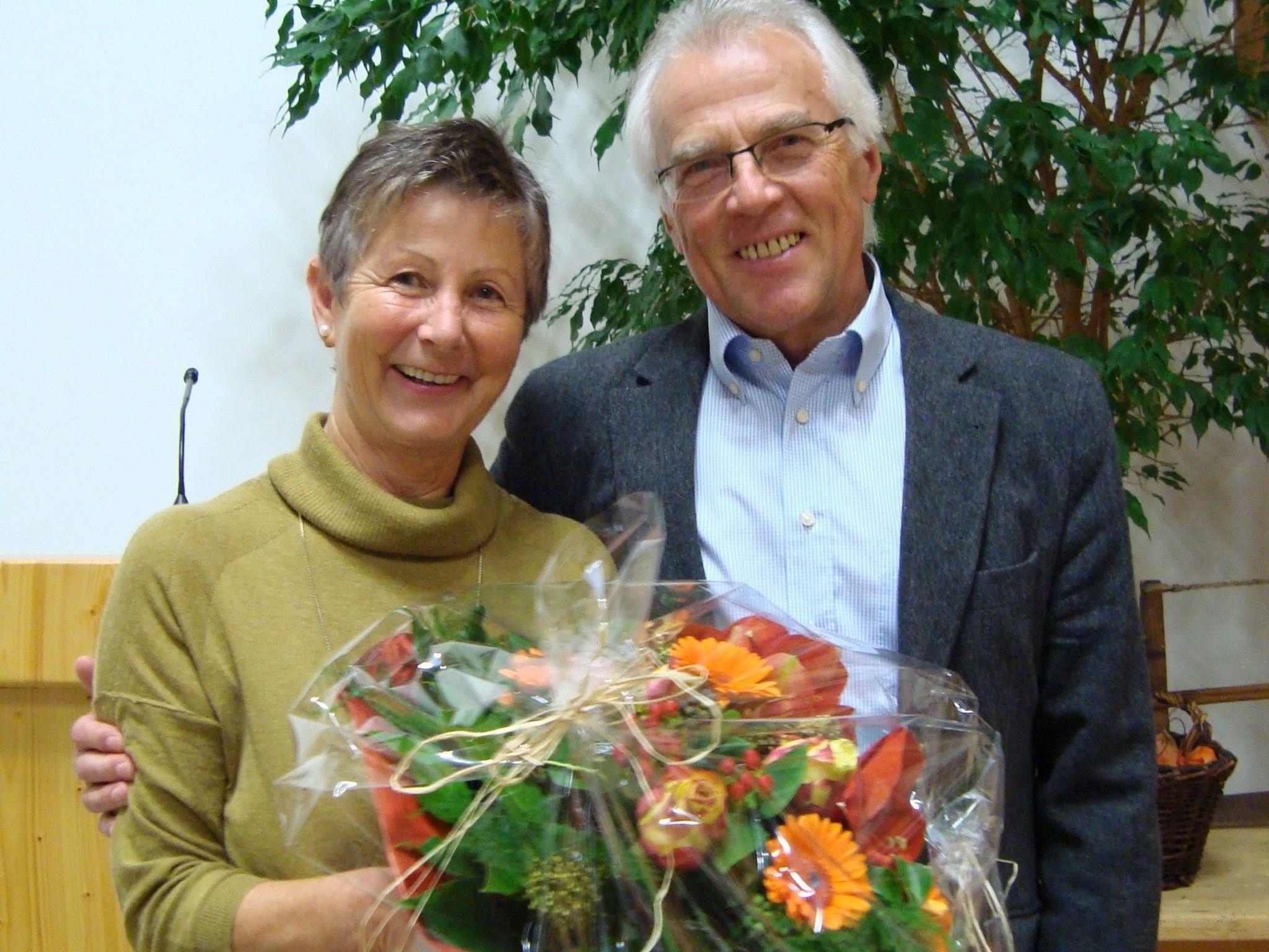 Hertha Covi und Josef Strolz