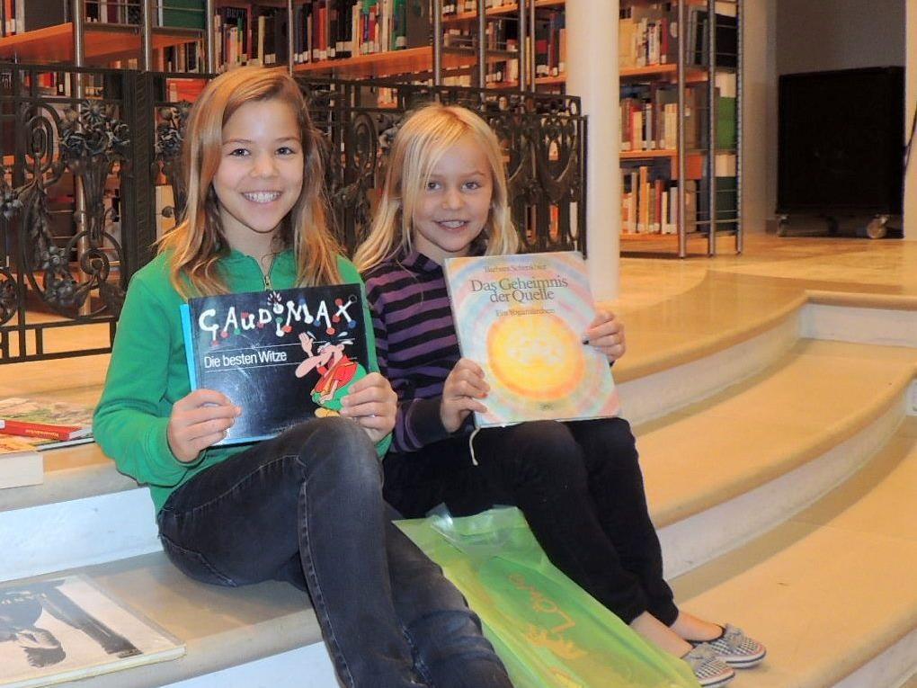 Claudia und Andrea aus Hittisau waren von der Auswahl begeistert