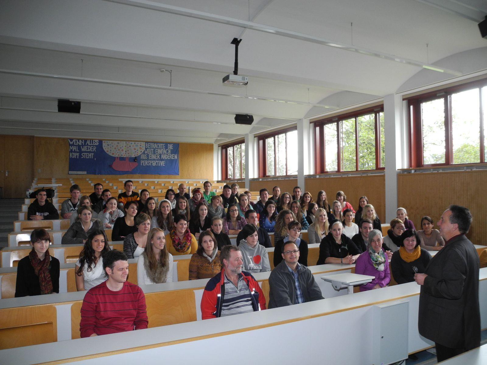 Der Hörsaal der Krankenpflegeschule Feldkirch