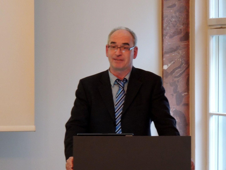 Präsentation des Sprachatlas von Hubert Klausmann