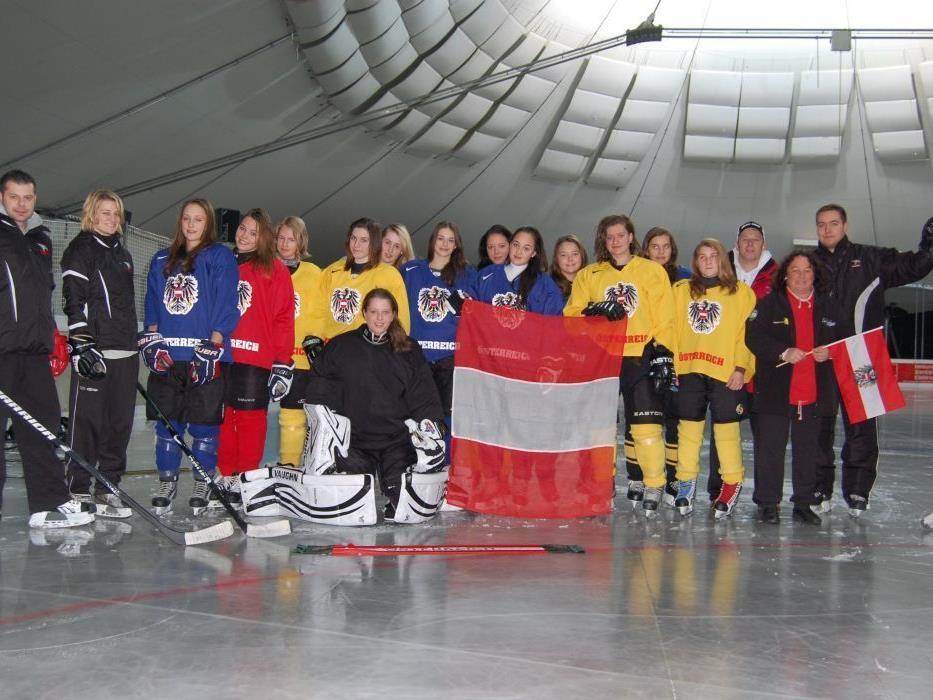 Das U18 Damen Nationalteam weilte zu Trainingszwecken im Montafon.