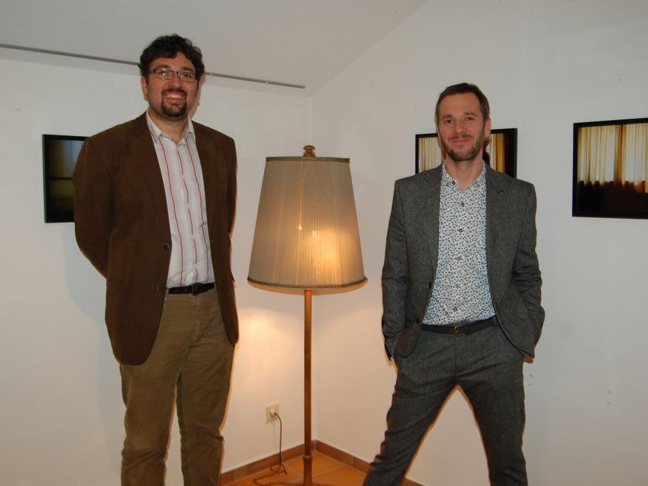 """Die Ausstellung von Marko Zink trägt den Titel """"im kurhotel. marko zink""""."""