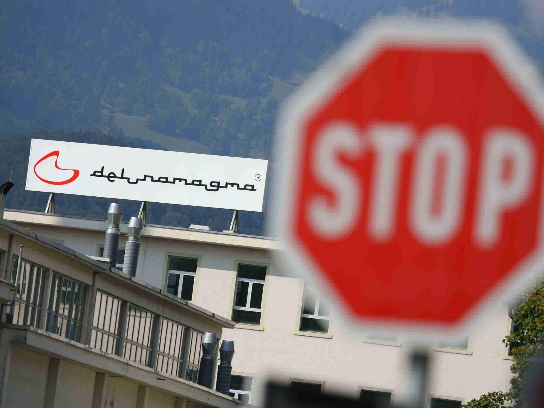 Im September 2008 stellte die Arbeiterkammer einen Konkursantrag für Delunamagma.