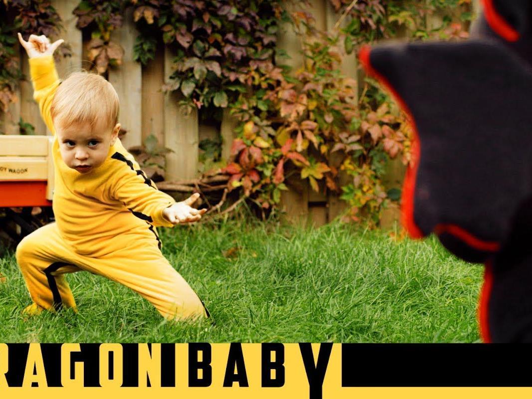 Mit dem Baby im Bruce Lee-Strampler gelang ihm ein Welthit.
