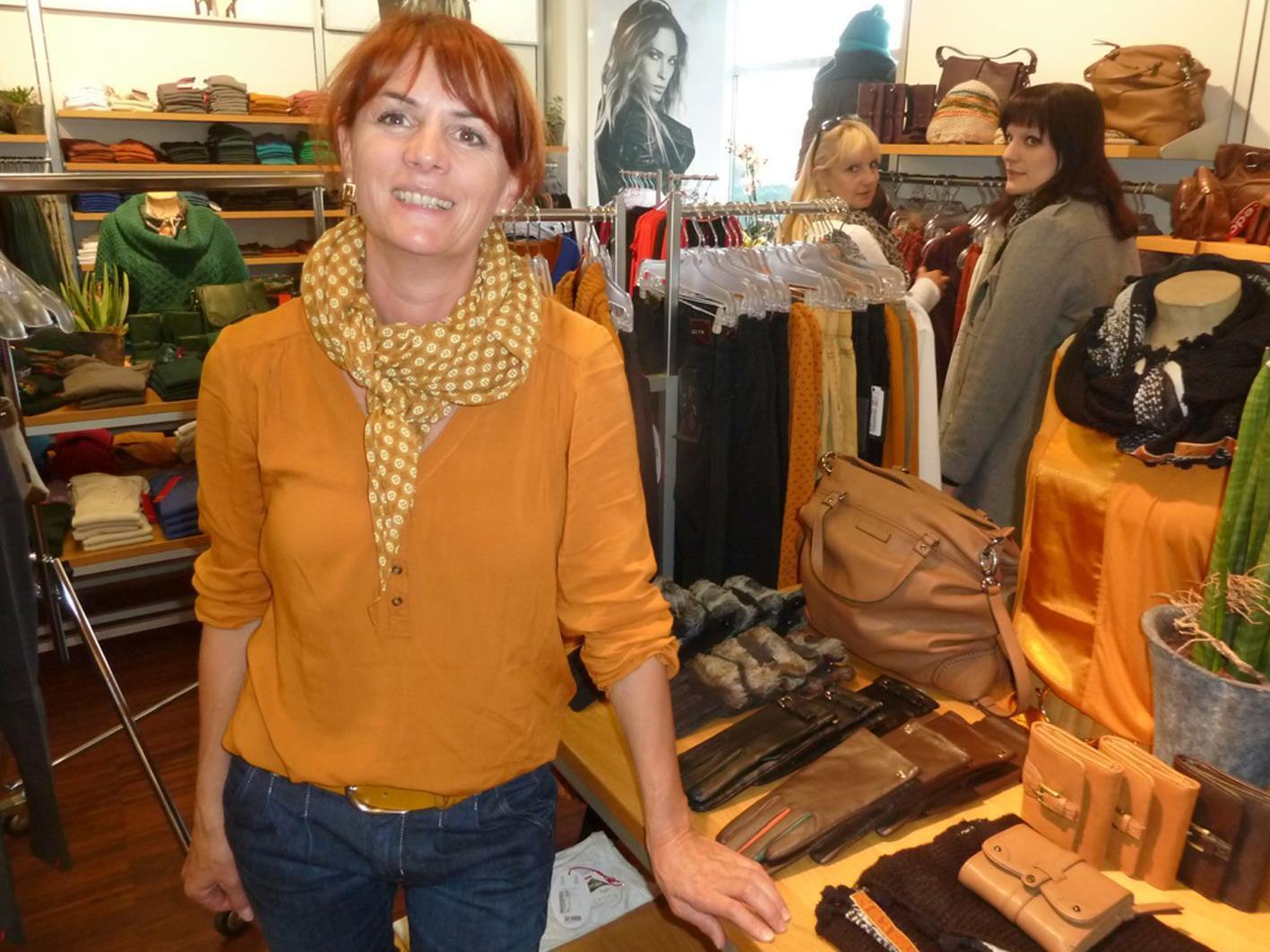 Barbara Kirchner lädt zum Modeherbst in fünf Hohenemser Fachgeschäften.